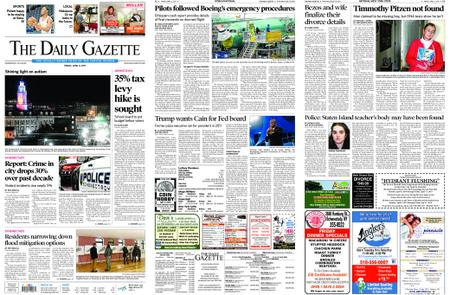 The Daily Gazette – April 05, 2019