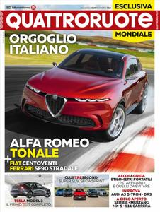 Quattroruote Italia - agosto 2019
