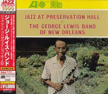 The George Lewis Band Of New Orleans - Jazz At Preservation Hall IV (1962) {2013 Japan Jazz Best Collection 1000 Series 24bit}