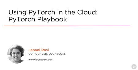 Using PyTorch in the Cloud: PyTorch Playbook