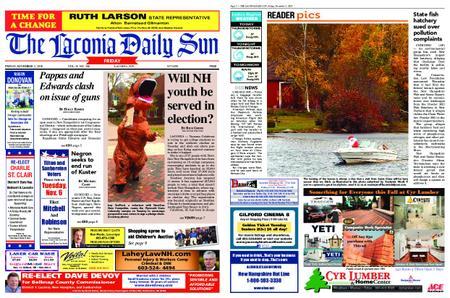 The Laconia Daily Sun – November 02, 2018