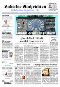 Lübecker Nachrichten Ostholstein Süd - 21. Februar 2019