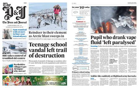The Press and Journal Moray – December 15, 2018