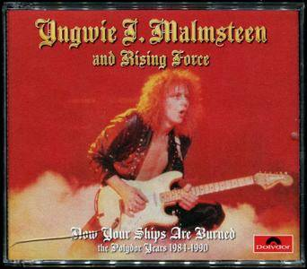 Yngwie J. Malmsteen - Now Your Ships Are Burned: The Polydor Years 1984-1990 (2014) [4CD Box Set]