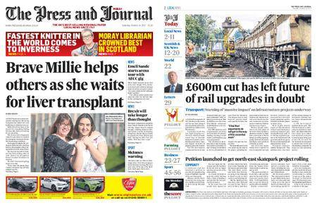 The Press and Journal Moray – October 14, 2017