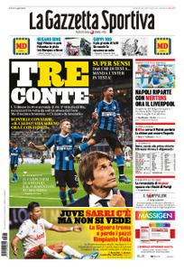 La Gazzetta dello Sport Roma – 15 settembre 2019