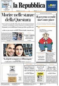 la Repubblica - 5 Ottobre 2019