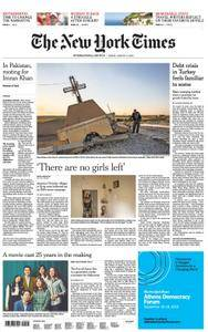International New York Times - 17 August 2018