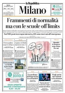 la Repubblica Milano - 29 Febbraio 2020