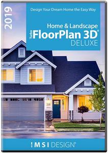 IMSI TurboFloorPlan Home and Landscape Deluxe 2019 v20.0