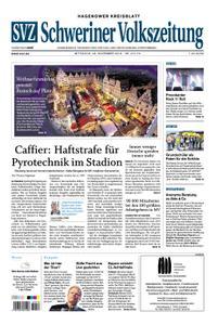 Schweriner Volkszeitung Hagenower Kreisblatt - 28. November 2018