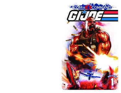 G I JOE Cobra Command Volume 1 June 2012 RETAiL COMiC eBOOk