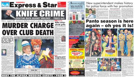 Express and Star Sandwell Edition – September 17, 2019