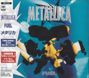 Metallica - Fuel (Japan CD5) (1998) {Sony}