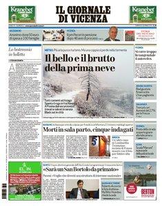 Il Giornale Di Vicenza - 3 Gennaio 2016