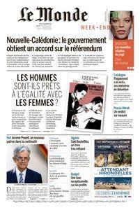 Le Monde du Samedi 4 Novembre 2017