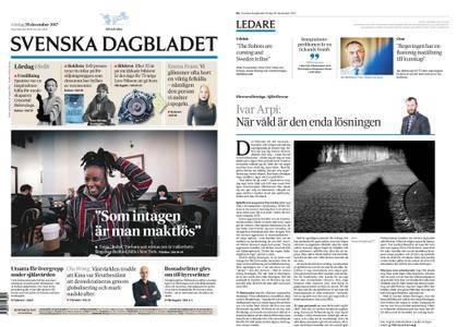 Svenska Dagbladet – 30 december 2017