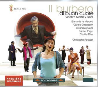 Christophe Rousset, Orquesta Sinfonica de Madrid - Martín y Soler: Il burbero di buon cuore (2012)