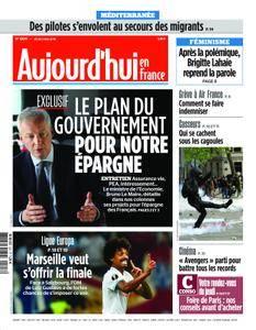 Aujourd'hui en France – 03 mai 2018
