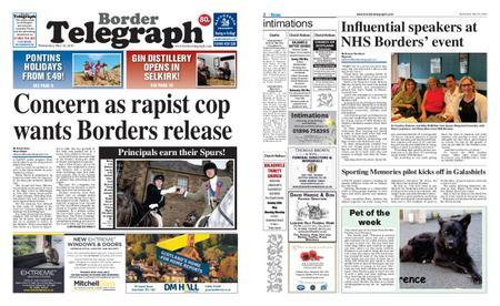 Border Telegraph – May 22, 2019