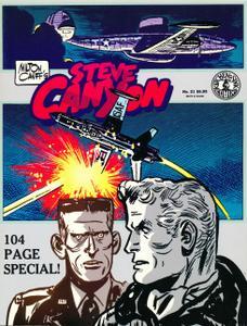Steve Canyon v21 (Kitchen Sink 1988)