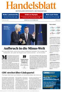 Handelsblatt - 29. Oktober 2019