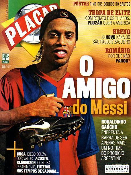 Revista Placar - Novembro 2007