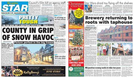 Shropshire Star Shrewsbury Edition – December 11, 2017