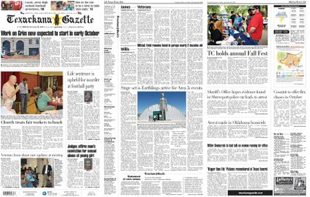 The Texarkana Gazette – September 20, 2019