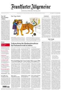 Frankfurter Allgemeine Zeitung F.A.Z. - 24. Mai 2019