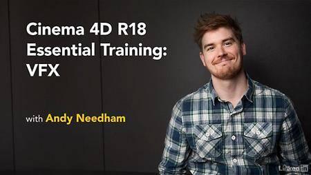 Lynda - CINEMA 4D R18 Essential Training: VFX