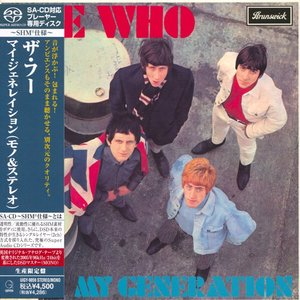The Who - My Generation (1965) [Japanese Limited SHM-SACD # UIGY-9059] PS3 ISO + Hi-Res FLAC