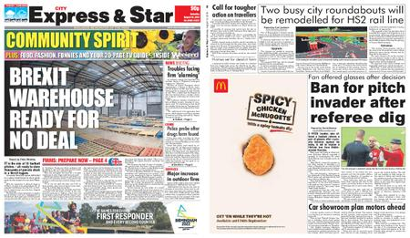 Express and Star City Edition – August 10, 2019