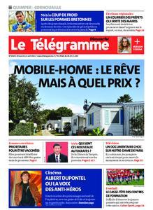 Le Télégramme Ouest Cornouaille – 11 avril 2021