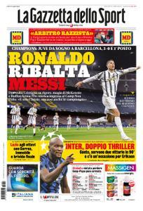 La Gazzetta dello Sport Roma – 09 dicembre 2020