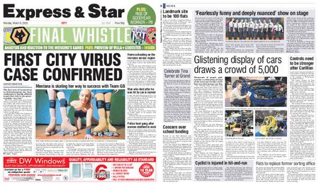 Express and Star City Edition – March 09, 2020
