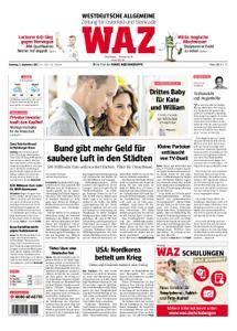 WAZ Westdeutsche Allgemeine Zeitung Oberhausen-Sterkrade - 05. September 2017