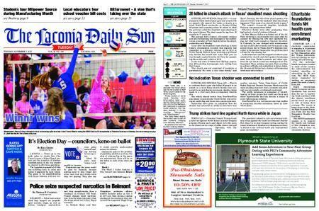 The Laconia Daily Sun – November 07, 2017