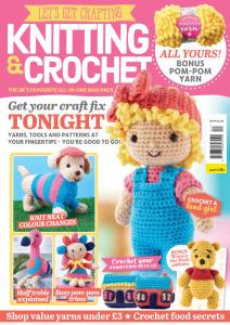 Let's Get Crafting Knitting & Crochet - Issue 120 - April 2020