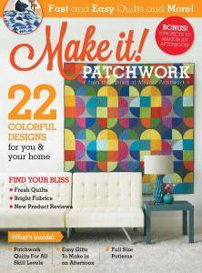 Modern Patchwork - Make It! Patchwork - Special Issue 2017