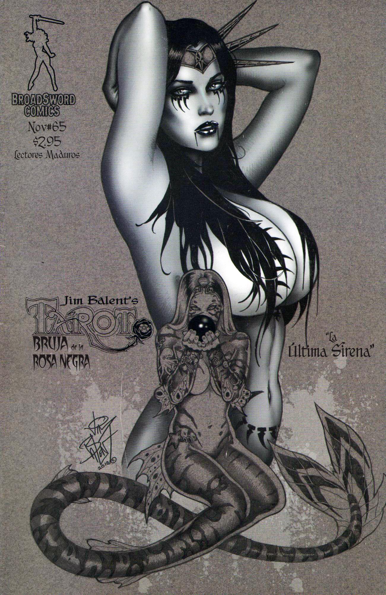 Tarot, Bruja de La Rosa Negra 65 La Ultima Sirena