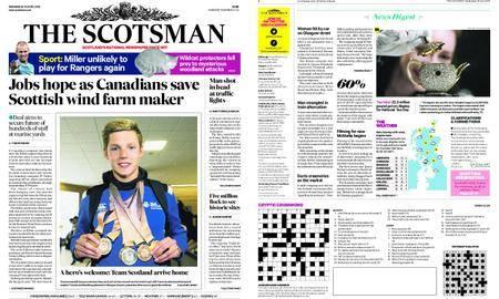 The Scotsman – April 18, 2018
