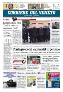 Corriere del Veneto Venezia e Mestre – 13 dicembre 2020