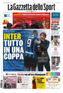 La Gazzetta dello Sport Roma – 05 agosto 2020