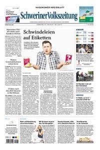 Schweriner Volkszeitung Hagenower Kreisblatt - 26. Juni 2018