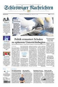 Schleswiger Nachrichten - 25. November 2019