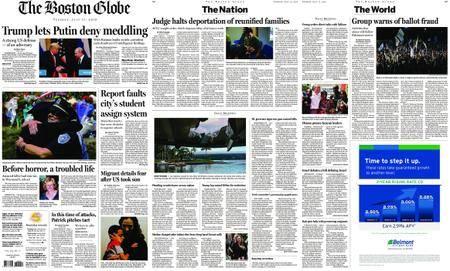 The Boston Globe – July 17, 2018