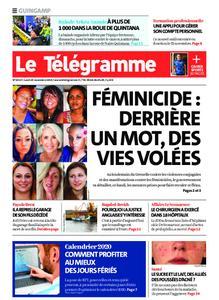 Le Télégramme Guingamp – 25 novembre 2019