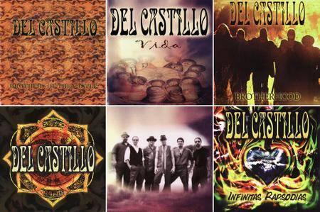 Del Castillo - Albums Collecton 2001-2012 (5CD + DVD)
