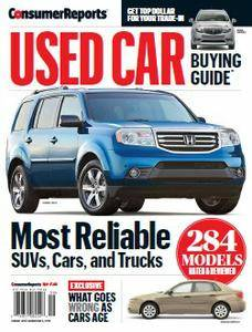 Consumer Reports - Used Car Buying Guide 2016